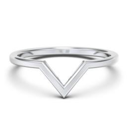 V-Shape Stackable Ring