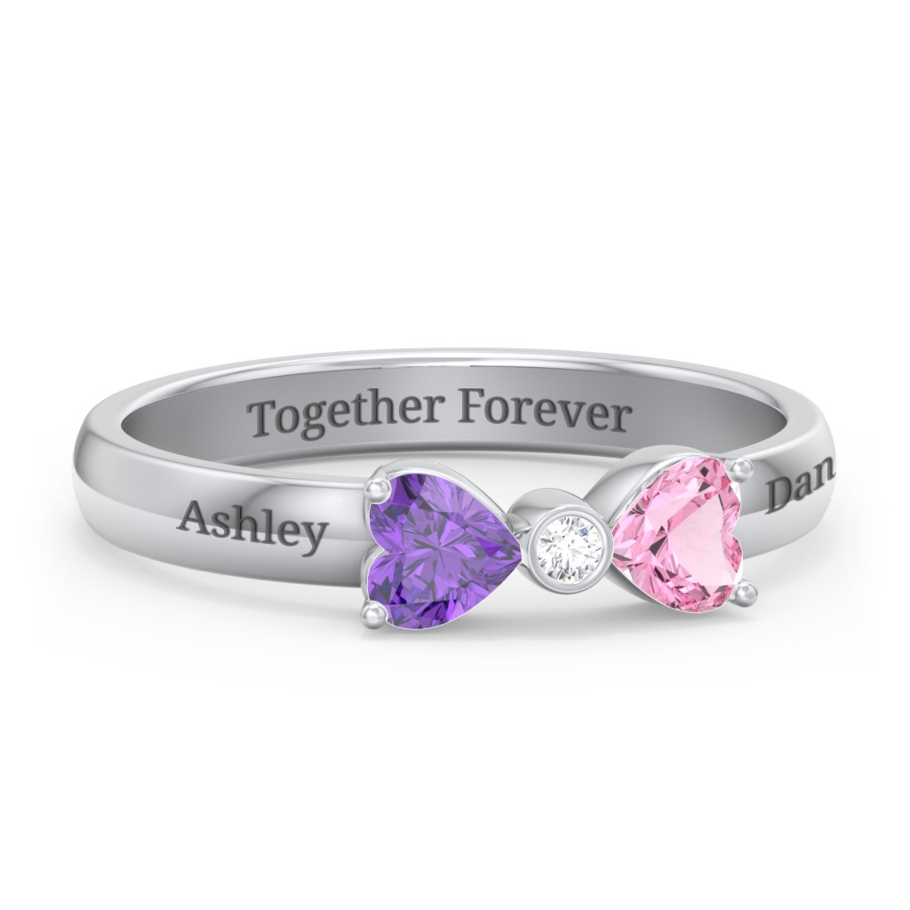 1325a77091167 Promise Rings - Personalised with Gemstones and Engravings | Jewlr