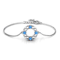 Circular Infinity Bracelet