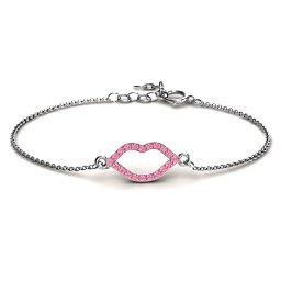 Lustrous Lips Bracelet