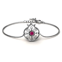 Pomegranate with Filigree Bracelet