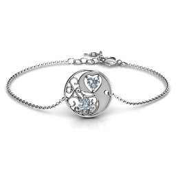 Love, Life and Balance Bracelet