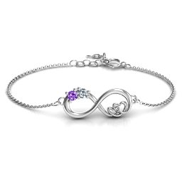 Double the Love Infinity Bracelet