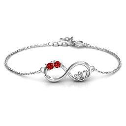 Double the Love Infinity Bracelet