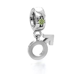 Male Sign Charm