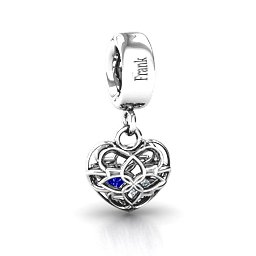 Beautiful Blossom Caged Charm