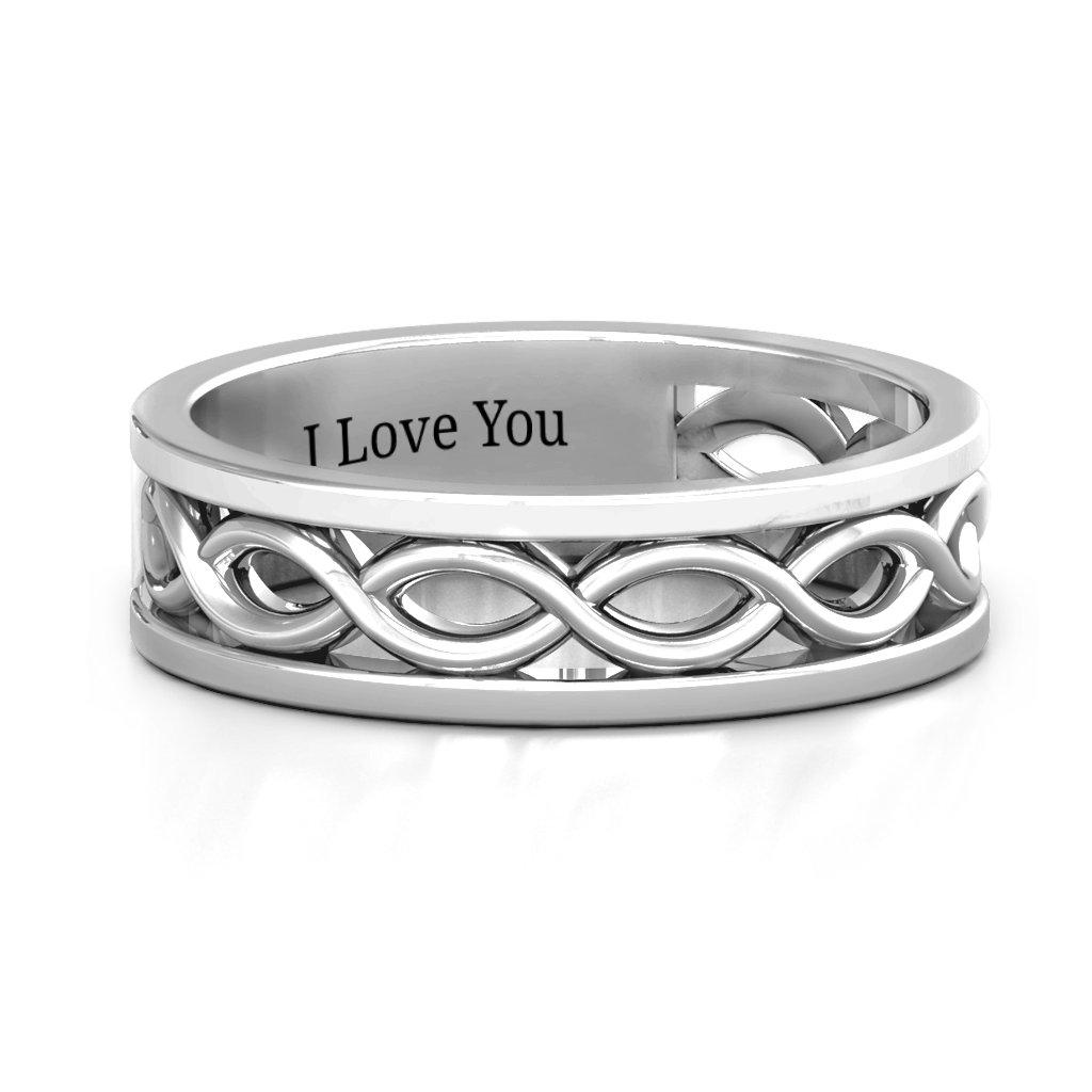 Diadem Infinity Women's Ring