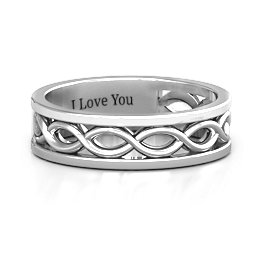 Diadem Infinity Women's Ring