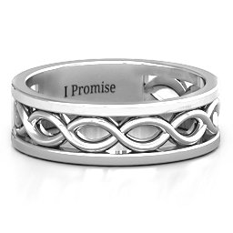 Diadem Infinity Men's Ring