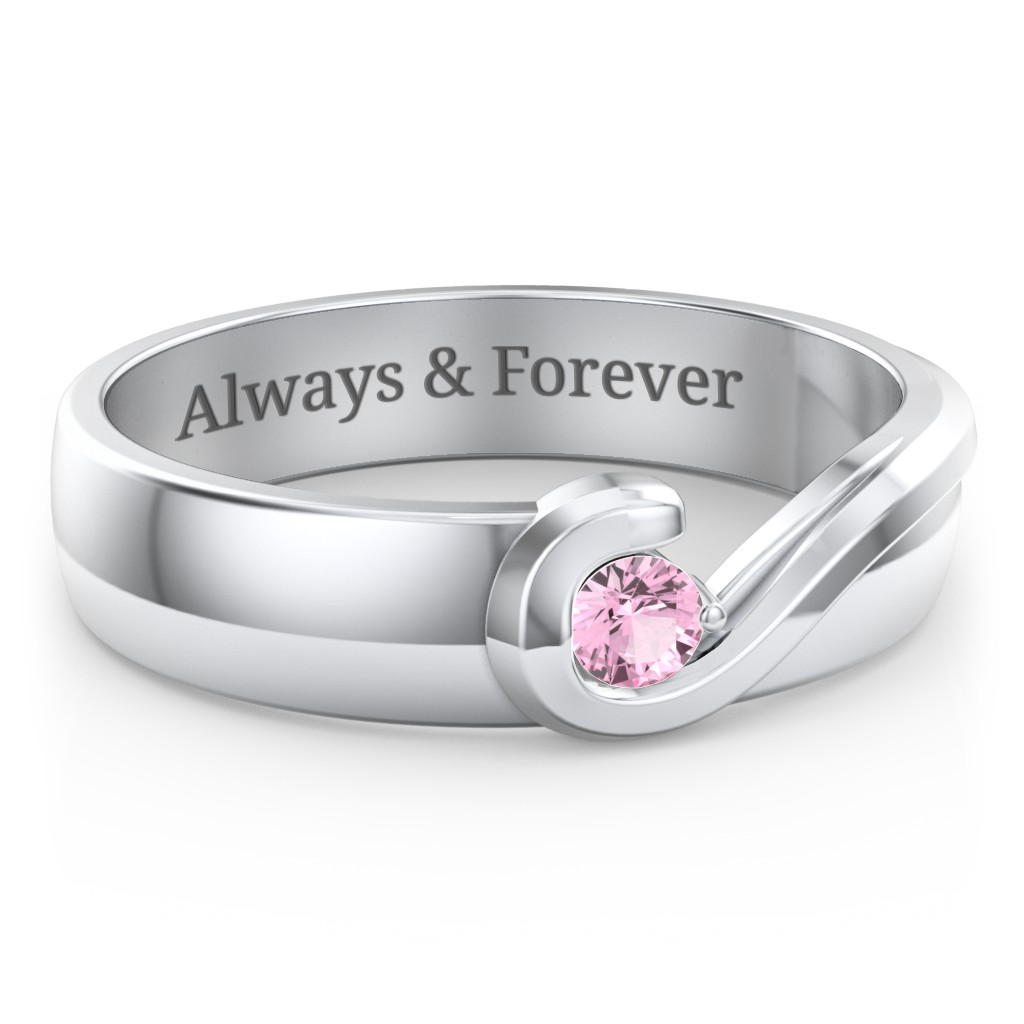 3619880f3 Men's Promise Rings - Personalized For Husband or Boyfriend | Jewlr