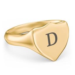 Men's Sheild Signet Ring