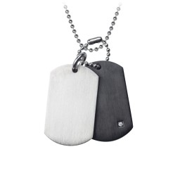 Perfect Balance Dogtag Necklace