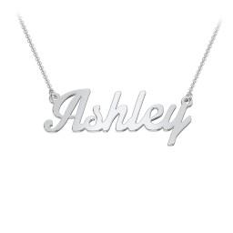 Name Necklace - Flourish