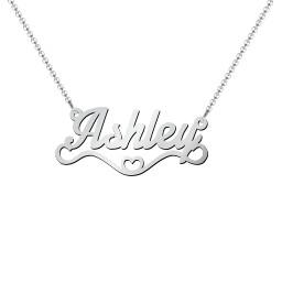 Stylized Name Necklace
