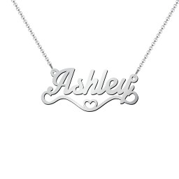 Stylized Name Necklace