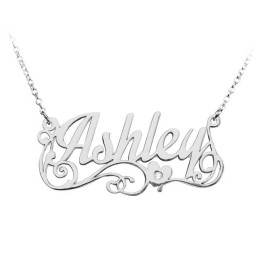 """Lots of Love"" Name Necklace"