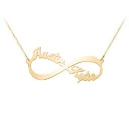 Infinite Love Name Necklace