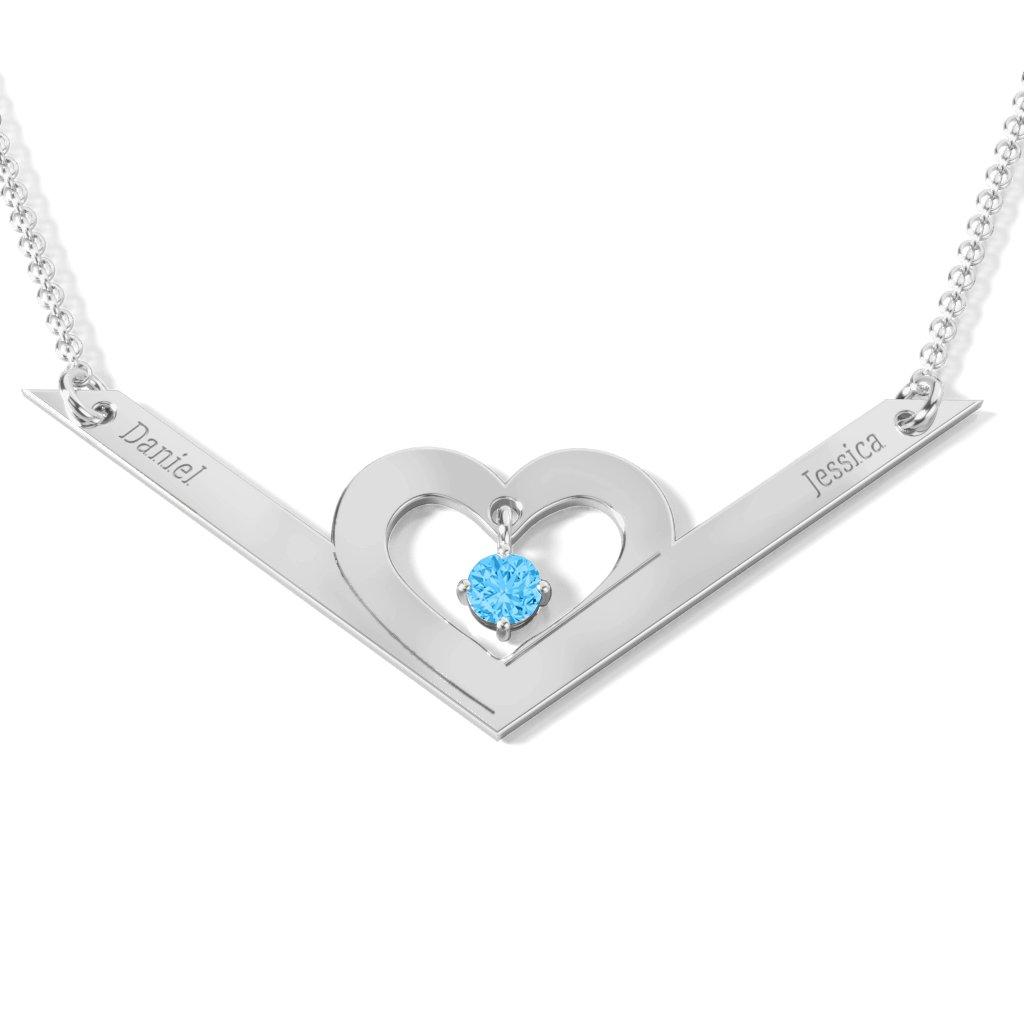 fd54e91c7c7 December Birthstone Necklaces, Blue Topaz Necklaces | Jewlr