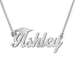 Graduation Name Necklace
