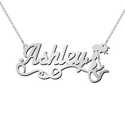 Mermaid Name Necklace