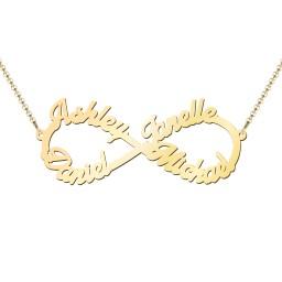 """Love """"4"""" Infinity Pendant"""
