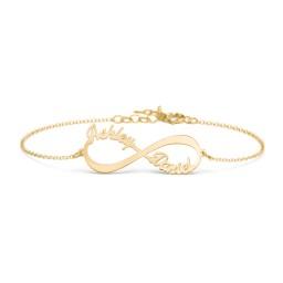 Infinite Love Name Bracelet