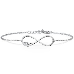 "Love ""4"" Infinity Bracelet"