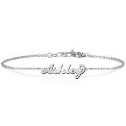 The Flourish Name Bracelet