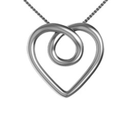 """Aeon"" Infinity Heart Pendant"