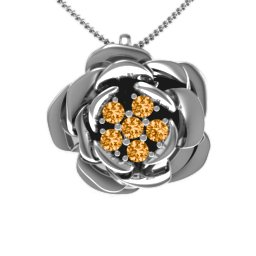 Family Rose Pendant