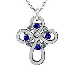 Contemporary Celtic Cross Pendant