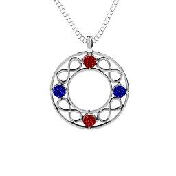 Infinity Circle Pendant