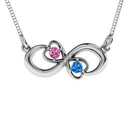 Two Hearts Infinity Pendant