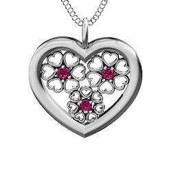 Blossom Hearts Pendant