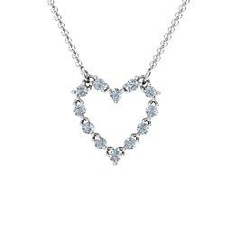 Glistening Heart Pendant