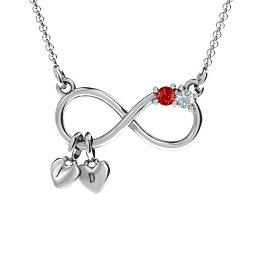 Twice the Love Infinity Pendant