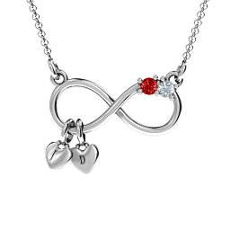 Twice the Love Infinity Pendant