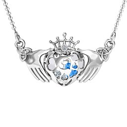 Caged Hearts Claddagh Pendant