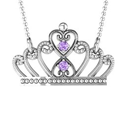 Charming Crown Necklace