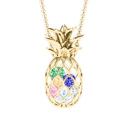 Pineapple Cage Necklace