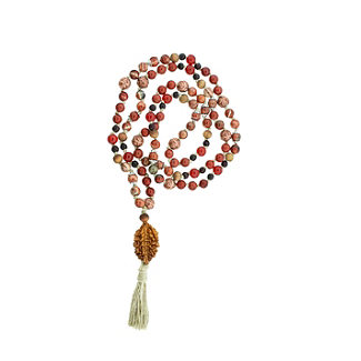 Protection and Comfort Mala with Copper Bead