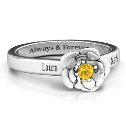 Flourish Rose Ring
